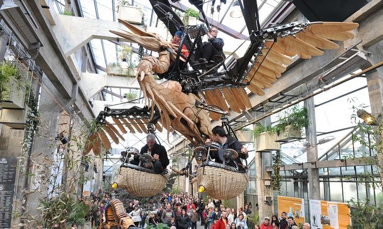 Các cỗ máy Les Machines de L'ile - Chim khổng lồ