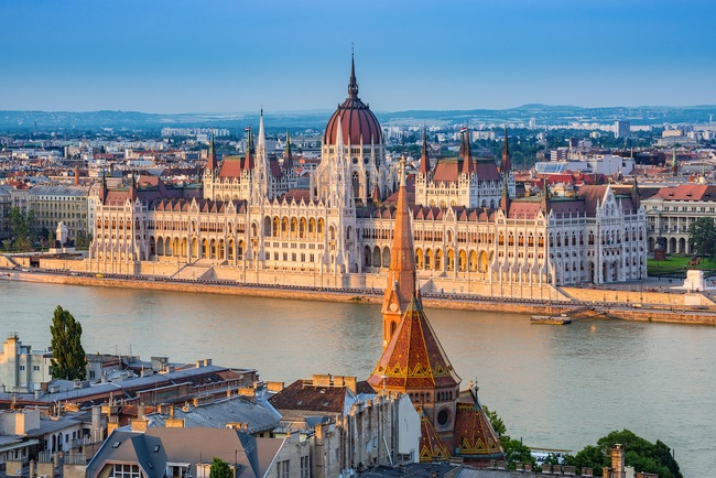 Hungarian Parliament - Budapest - Hungary