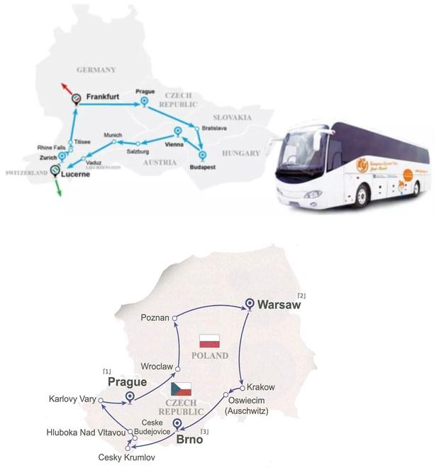 Tour ghép Tuyến XANH DƯƠNG – SÉC – BA LAN (16 ngày 15 đêm)
