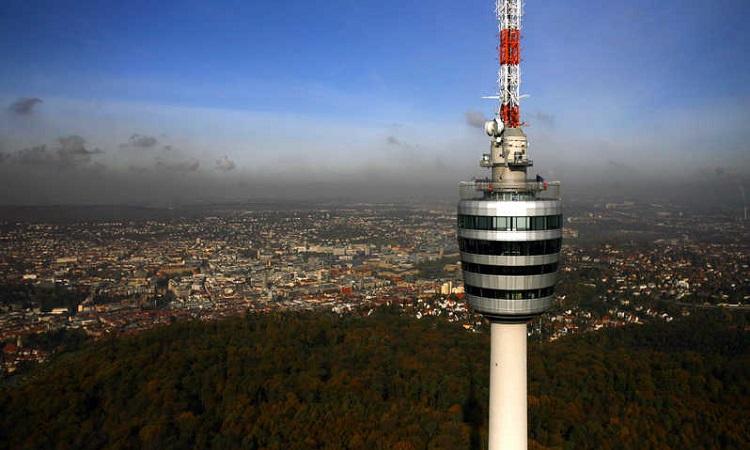 tháp truyền hình Fernsehturm Stuttgart