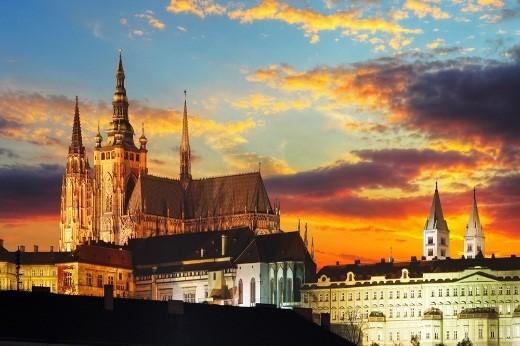 Lâu đài cổ Prague