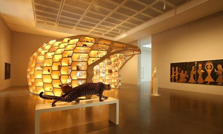 Không gian trưng bày ấn tượng của bảo tàng Folkwang
