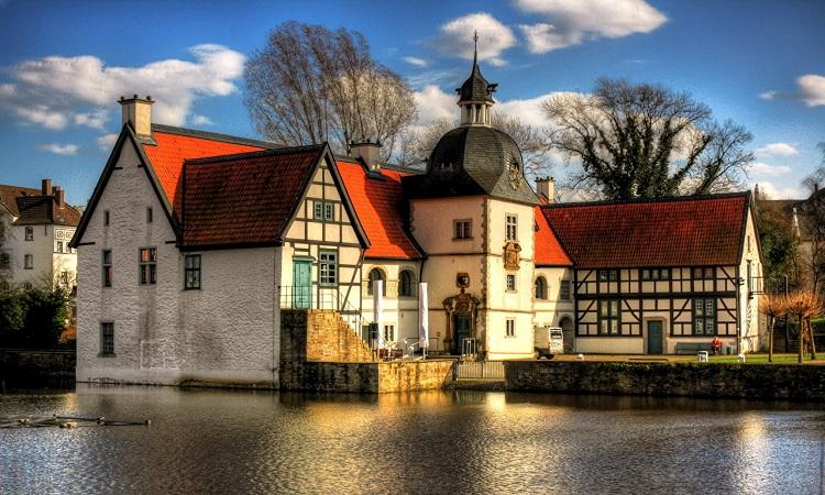 Lâu đài Wasserschloss Haus Rodenberg