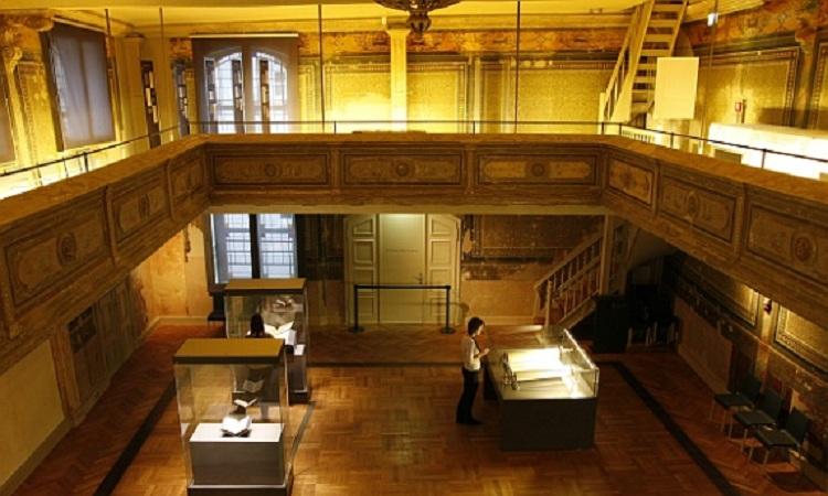 Không gian trưng bày của nhà nguyện giống như bảo tàng