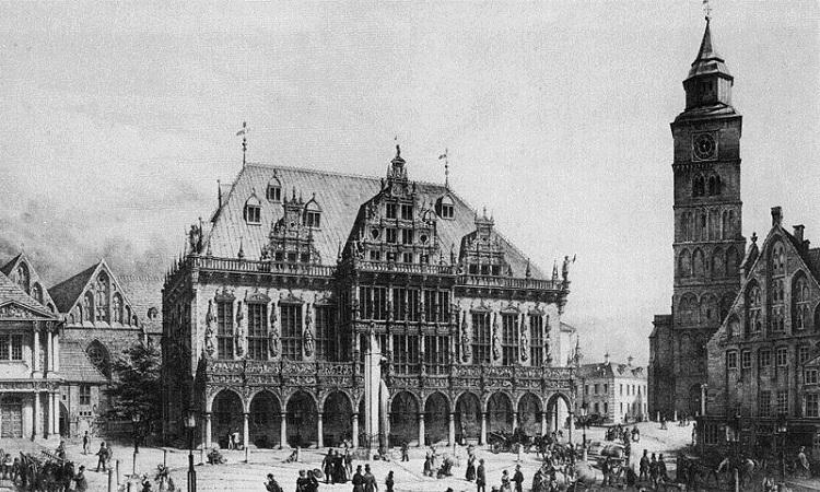 Hình ảnh Quảng trường Marktplatz trước đây