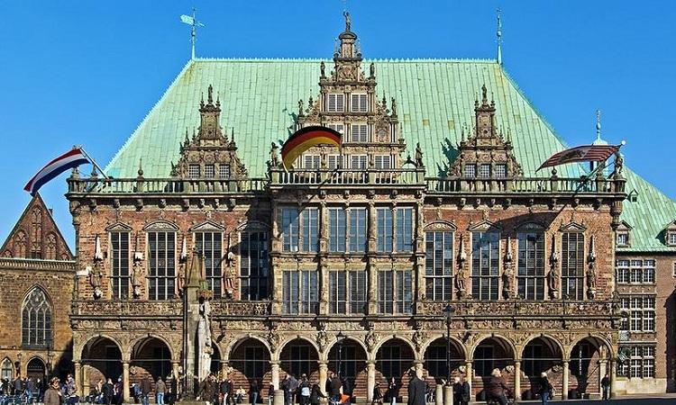 Chính diện tòa thị chính Bremen