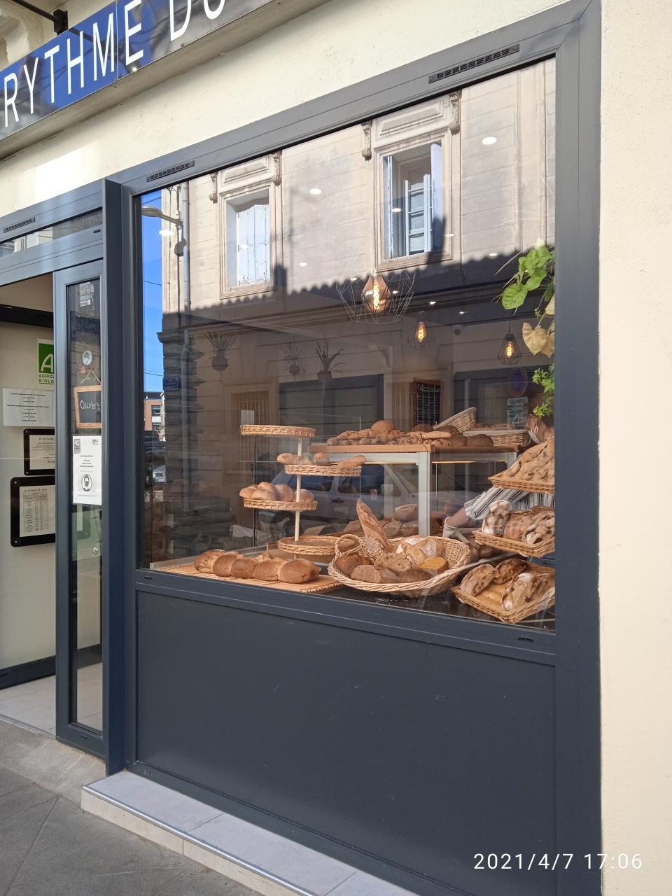 Cửa hiệu bánh mỳ baguette