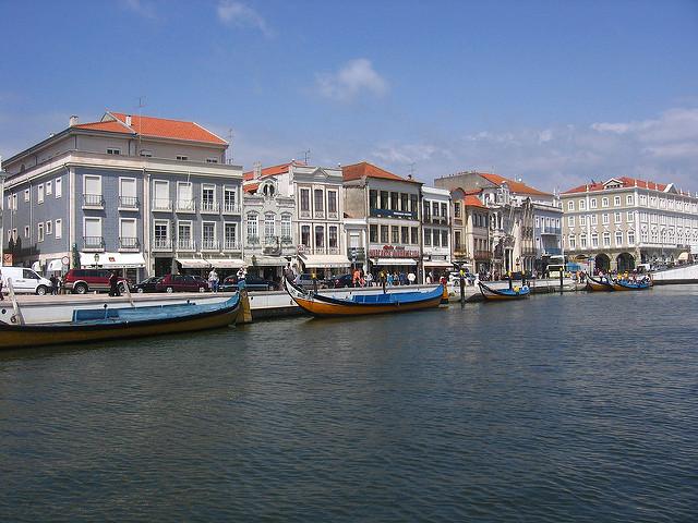 Aveiro - thành phố đẹp nhất Bồ Đào Nha