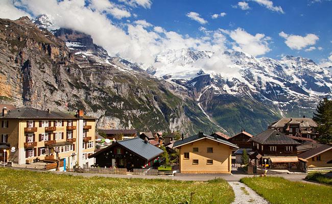 Phượt Thụy Sĩ đến Murren