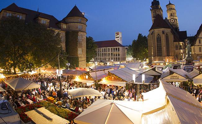Lễ hội Stuttgarter Weindorf (Stuttgart, Đức)