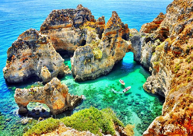 algarve thành phố đẹp nhất Bồ Đào Nha