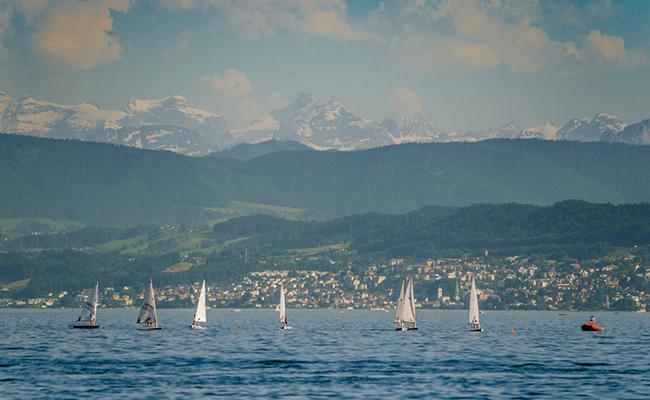 điểm du lịch Zurich - Hồ Zurich