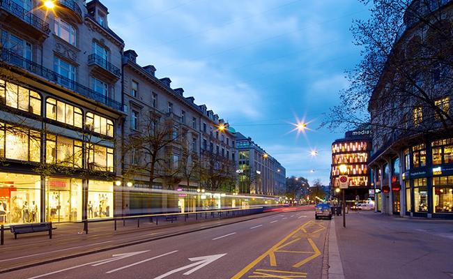 điểm du lịch Zurich - Bahnhofstrasse, Zurich
