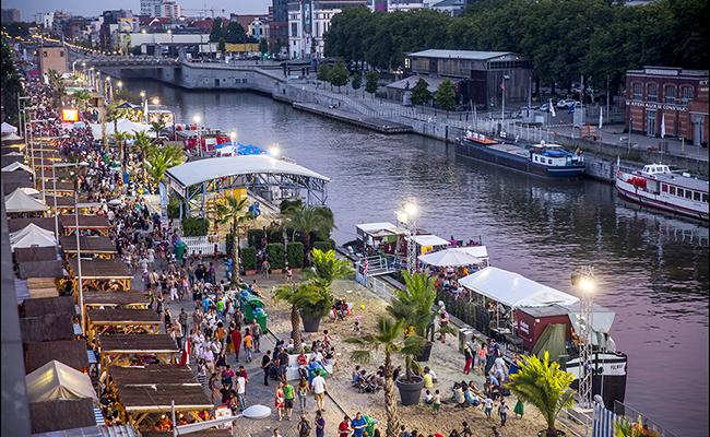 Mùa hè ở đất nước Bỉ