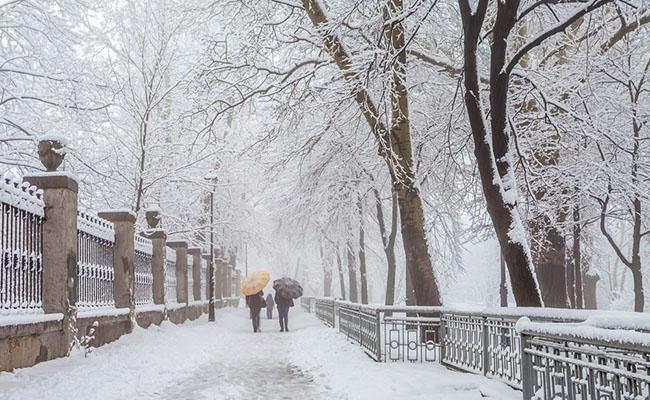 Vẻ đẹp quyến rũ của mùa đông ở châu Âu