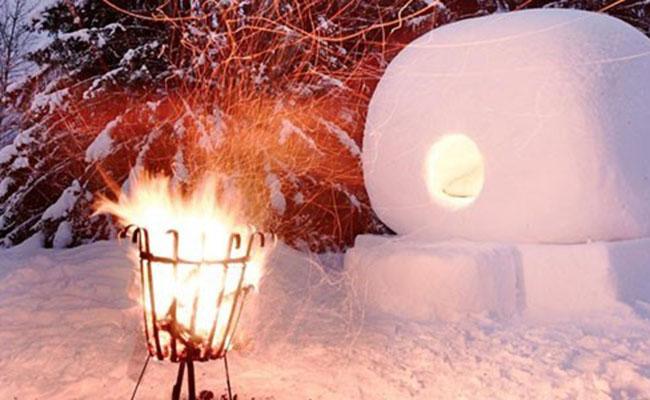 Ngủ trong cầu tuyết tại Jokkmokk, Thụy Điển