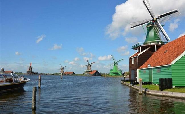 Ngôi làng cối xay gió Kinderdijk