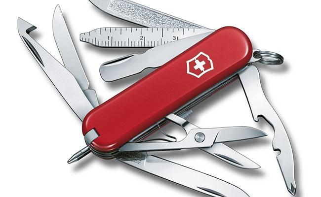 Dao đa năng Swiss Army Knife - Du lịch Thụy Sĩ mua gì làm quà