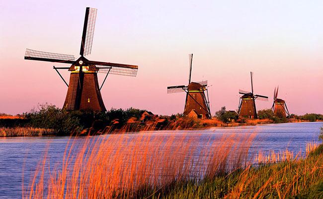 Làng Kinderdijk