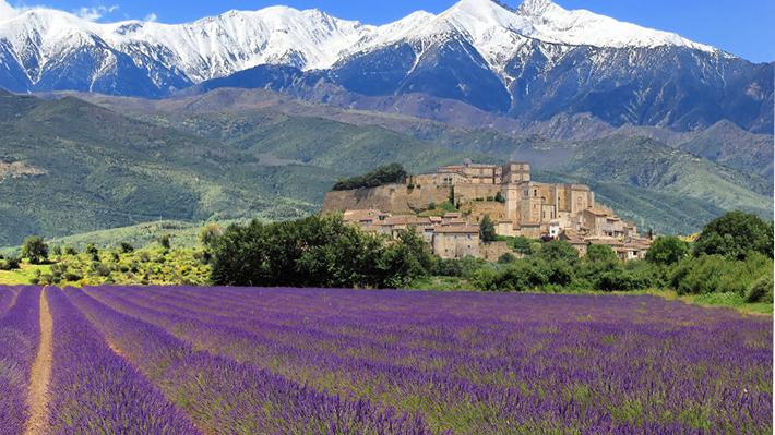 Sự thanh bình giản dị không kém phần quyến rũ Provence