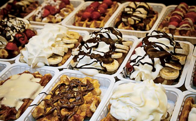 Chocolate luôn là thứ nổi tiếng nhất ở Bỉ
