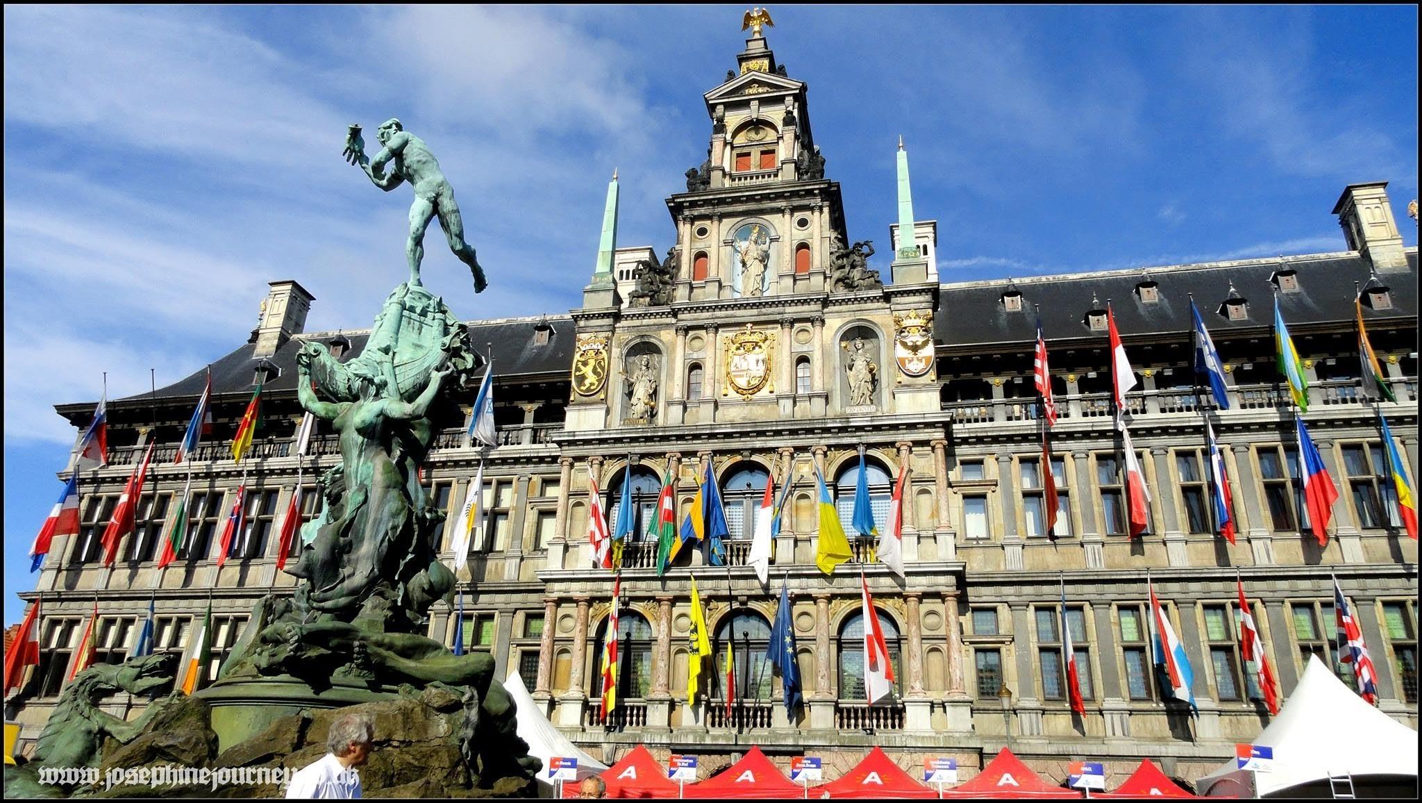 Đất nước Bỉ tráng lệ và phồn hoa