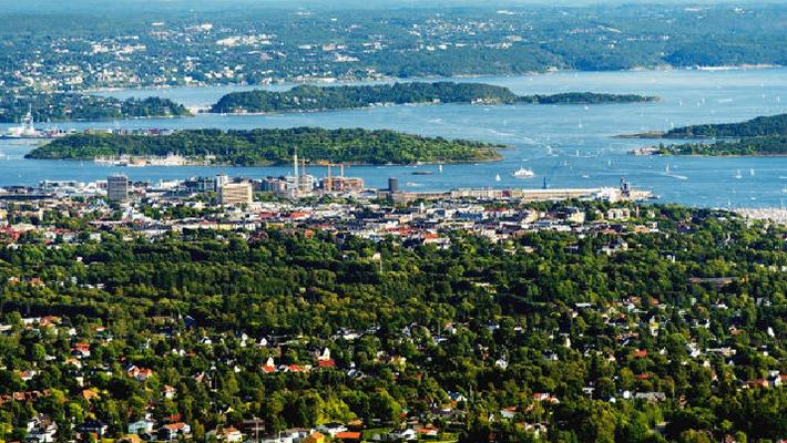 Thủ đô Oslo xinh đẹp của Na Uy