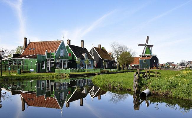 Khám phá ngôi làng Zaanse Schans