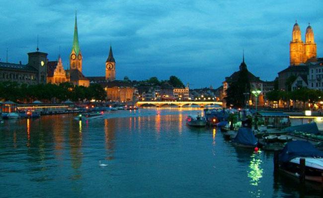 Một thành phố sôi động bậc nhất ở Thụy Sĩ, Zurich