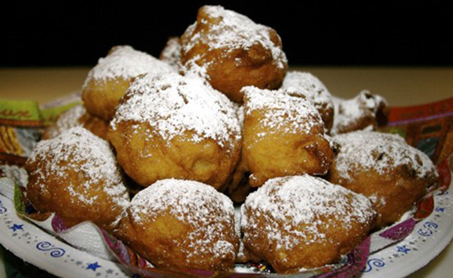 Oliebollen - Món ăn truyền thống của người Hà Lan đón năm mới
