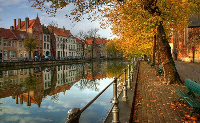 Lắng đọng bởi không gian cổ điển đầy mê hoặc ở Bỉ