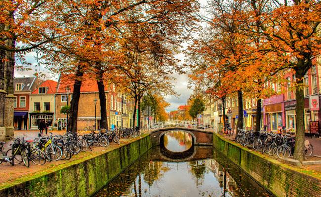 Thả mình vào thiên nhiên, cảnh đẹp ở Hà Lan