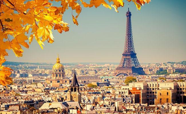 Mùa thu quyến rũ thại Paris - Pháp