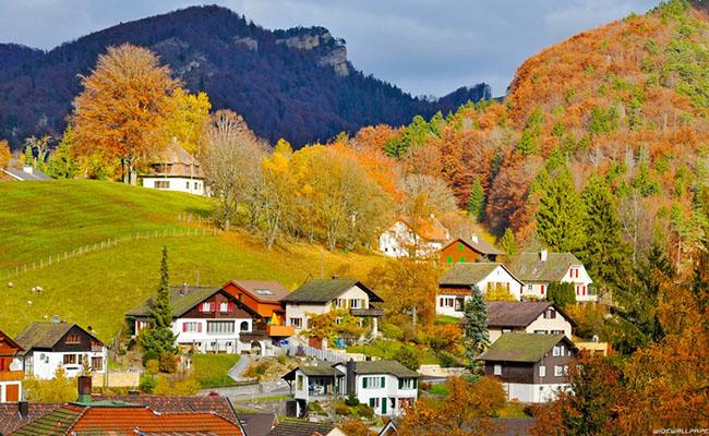 Mùa thu ở Thụy Sĩ