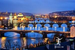 Tour xanh dương + đỏ : PHÁP – ĐỨC – SÉC – SLOVAKIA – HUNGARY – ÁO – THUỴ SỸ 13 Ngày